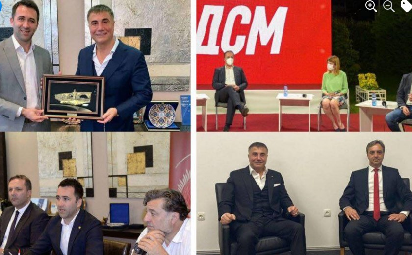 Zaev acknowledged that Sedat Packer has a Macedonian passport