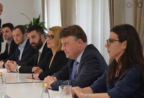 """New """"Dragi Raskovski"""" appears in the person of Silegov's secretary"""