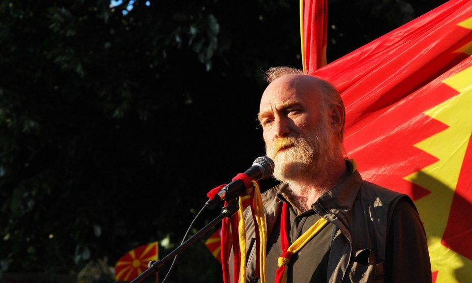 Vlado Jovanovski: Those imprisoned in the April 27th trial are the martyrs of Macedonia