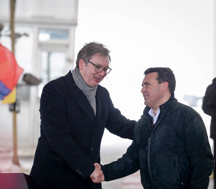 In addition to vaccines, Macedonia will receive high-speed railroad line from Vucic, and only affairs from Zaev