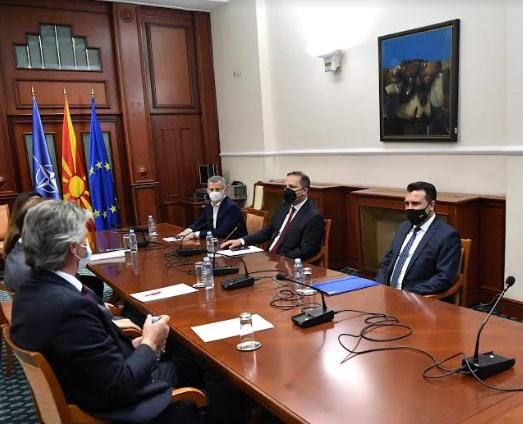Zaev claims that the Albanian opposition parties submitted a different version of the citizenship bill