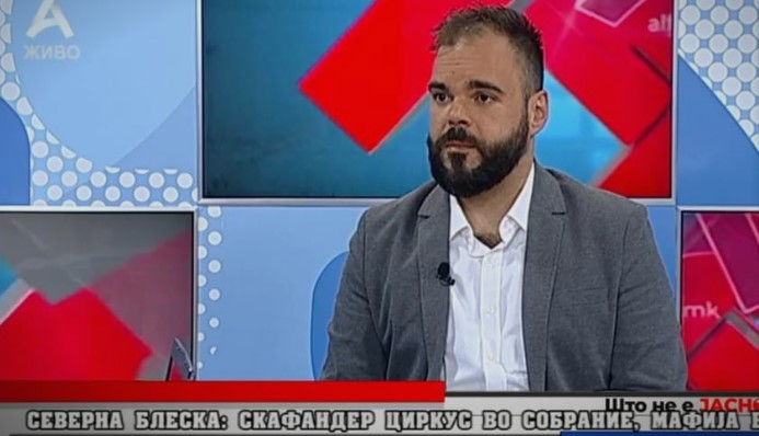 Bogdan Ilievski: The government needs a psychiatrist