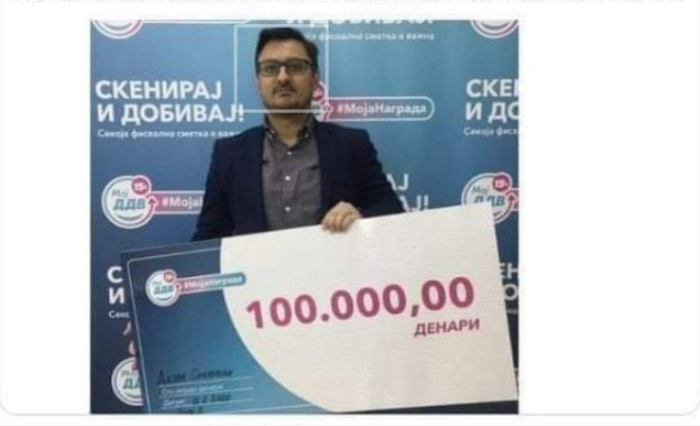 Very lucky: One of the government freelancers also received a prize from the PRO?