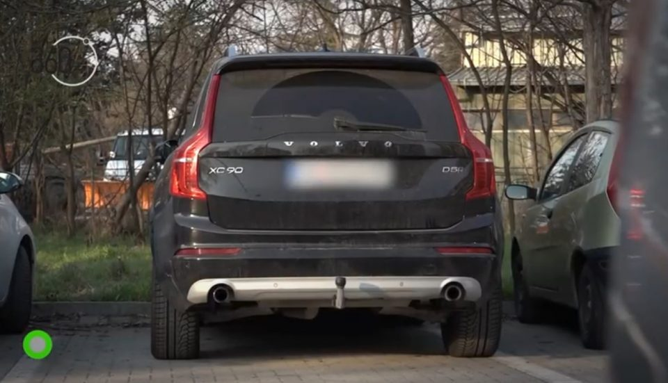 "Raskovski uses an SUV owned by a company of one of the ""secret"" freelancers in the Government"