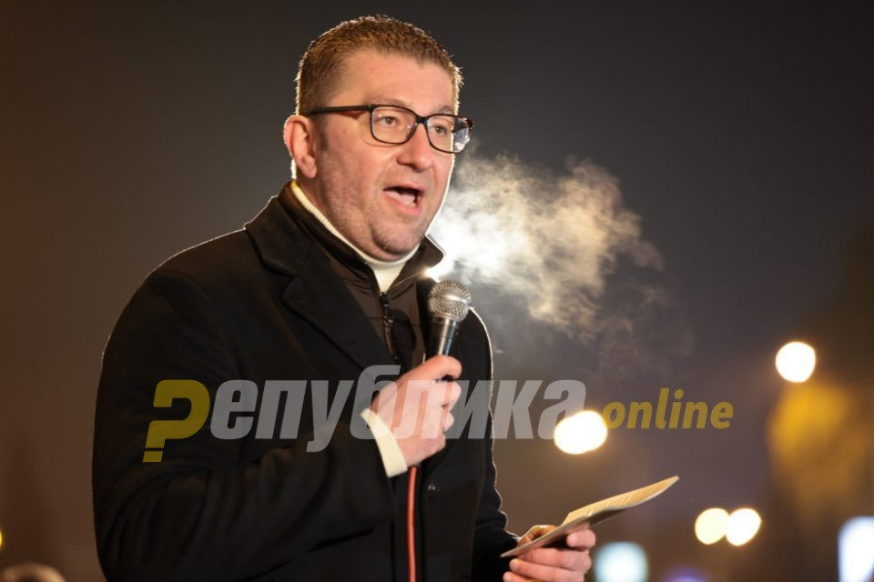 Mickoski on today's corona death report: Resignation of the mafia government, and then responsibility and normalization