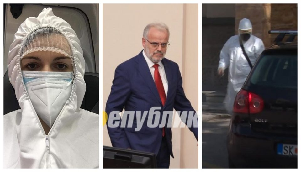 Levica also proposes charges against the two infected SDSM members of Parliament who came to vote in hazmat suits