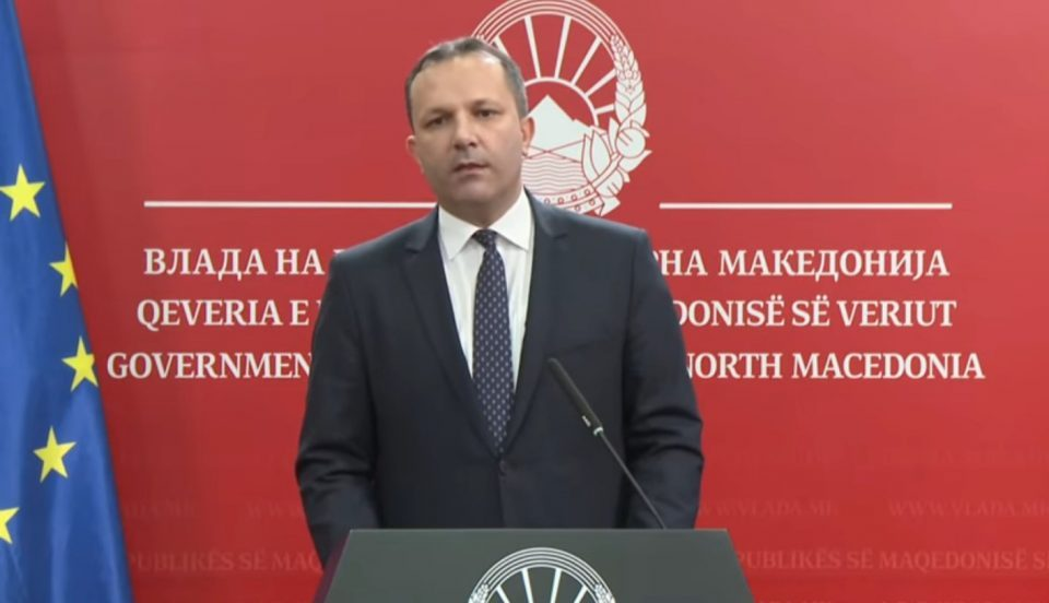 Treatment of the opposition during the vote of no confidence in Minister Spasovski likely to deepen the political crisis