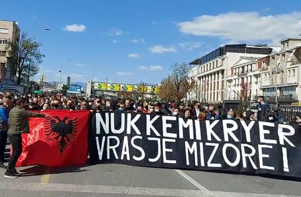 Albanian protesters demand the release of the killers of Nikola Sazdovski – Sazdo