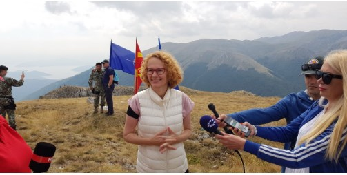 Sekerinska doesn't expect possible turnaround in relations with Bulgaria in June