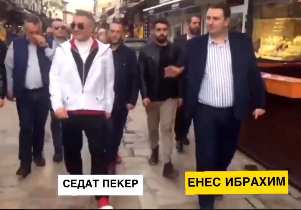 Zaev sees no problem in the meeting between his coalition partner and Turkish mobster Sedat Peker