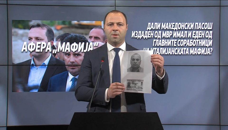 LIVE: New revelations of mobsters who were issued passports by the Macedonian Interior Ministry