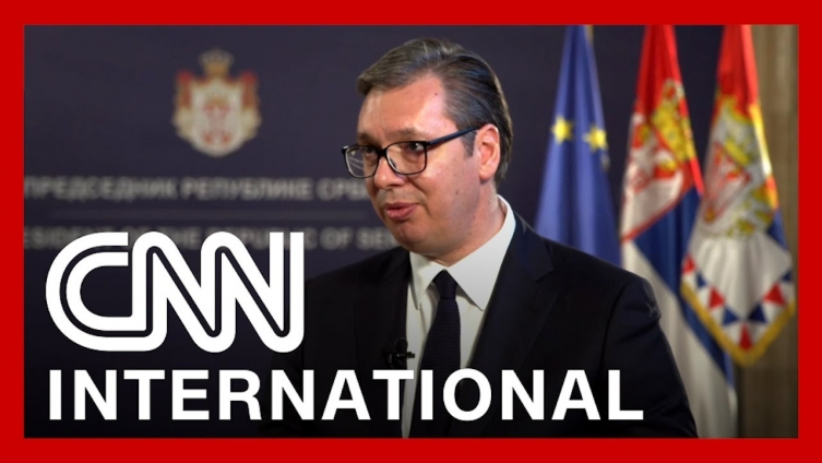 Vaccines not geopolitical but saving lives issue in Serbia, Vucic tells CNN