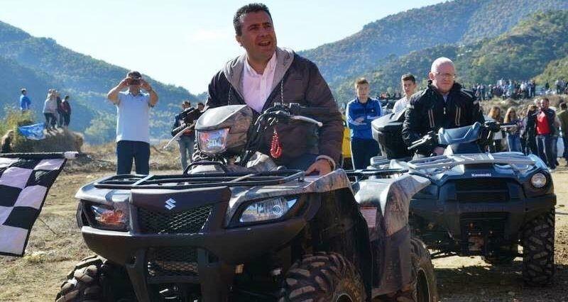 Zaev's adviser Raskovski filmed using an expensive SUV, is building a villa near Skopje