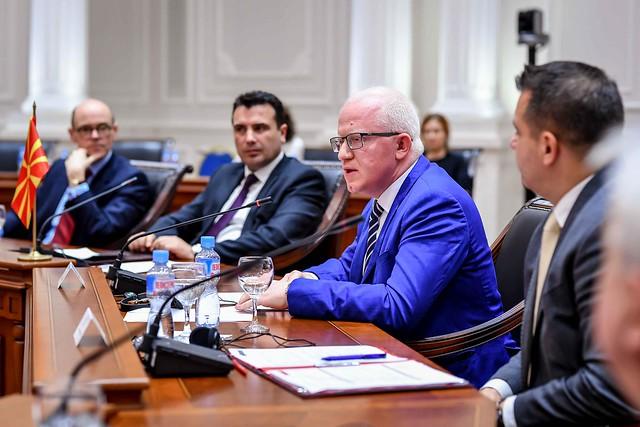 Zaev accepts Raskovski's resignation