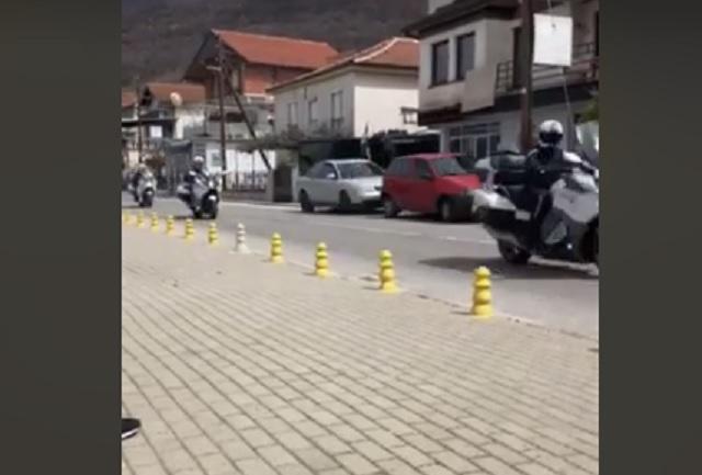 Zaev: We had a lovely motorcycle tour this weekend, I already said I won't work on Sundays