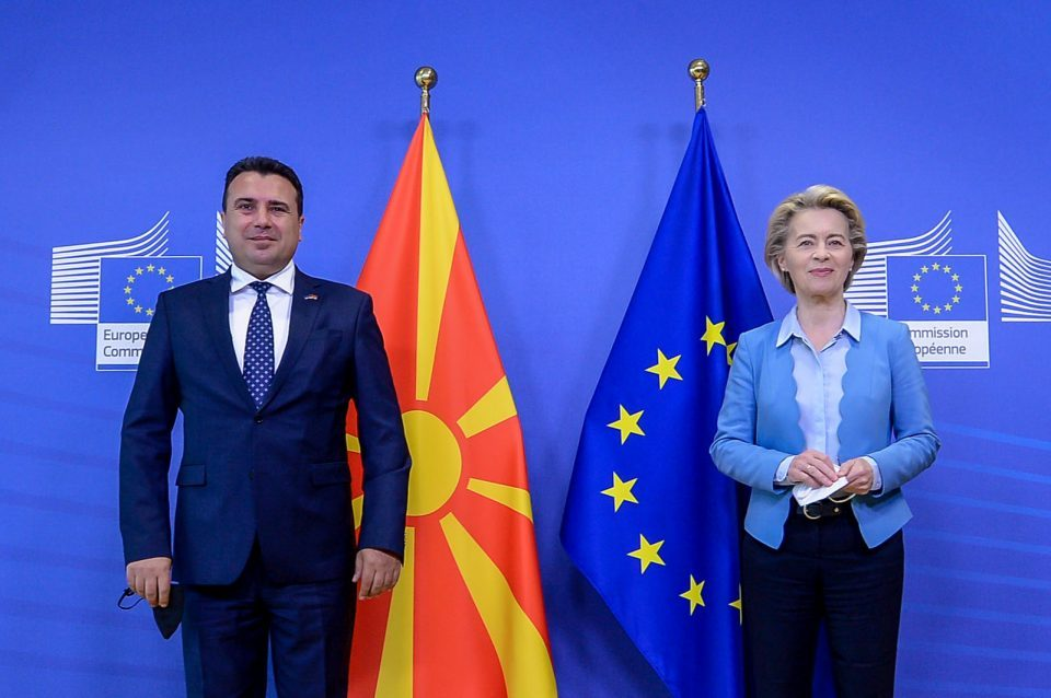 Zaev – Von Der Leyen meeting: Identity issue non-negotiable, EC to be further engaged