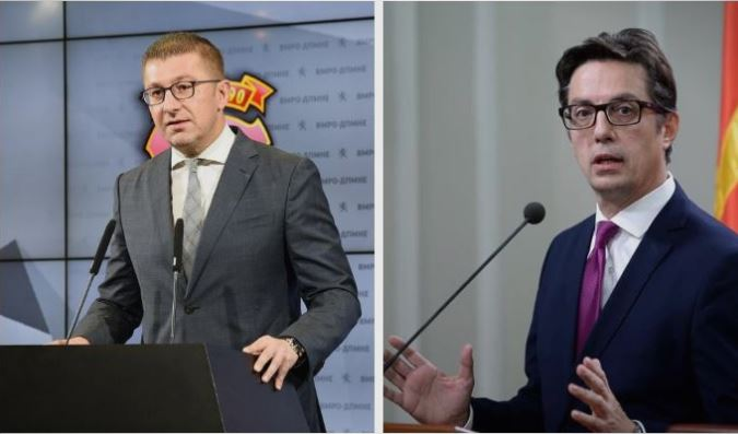 Mickoski will meet with Pendarovski to discuss the fate of the April 27th political prisoners