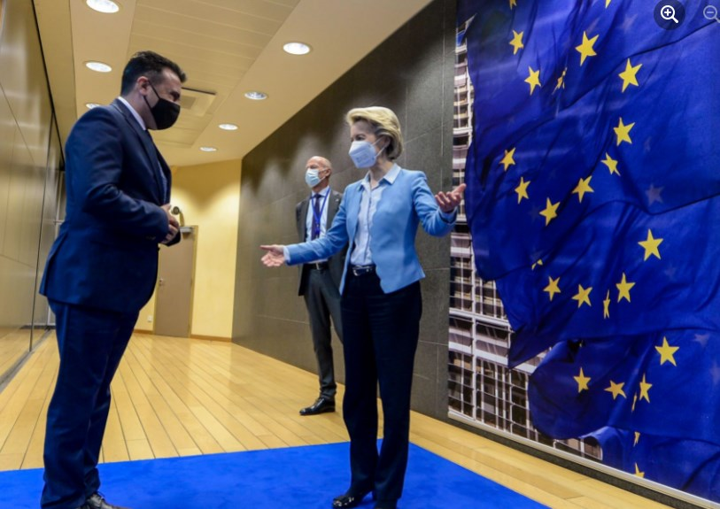 Cold shower from Brussels for Zaev: No EU accession talks without agreement with Bulgaria