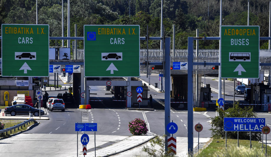 Greece eventually opened its border for Macedonian tourists