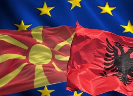 Decoupling Macedonia and Albania an option, Varhelyi tells Euronews