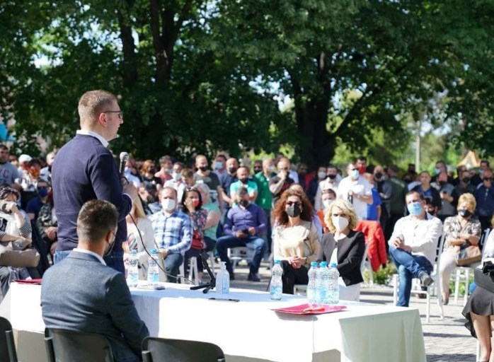 Mickoski ends talk of renewal: This time we will have to rebuild Macedonia from the ground up