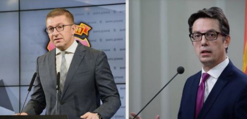 Mickoski and Pendarovski meet to discuss the April 27th group of political prisoners