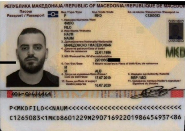 Intelligence Agency head: Macedonian passports were issued to extremists from Syria and assassins in Ukraine and Greece