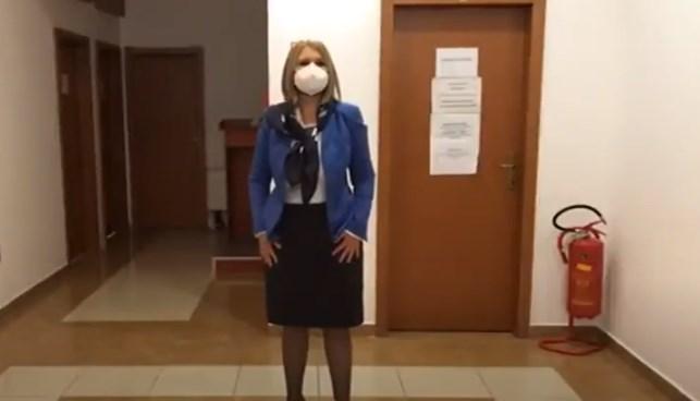 Pavlina Crvenkovska has no experience as a judge, but party baggage