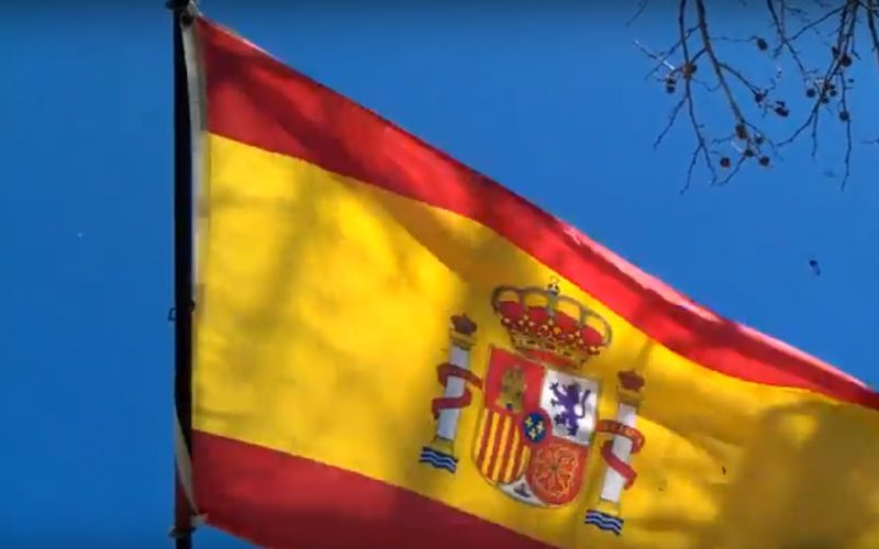 Zaev visits Spain