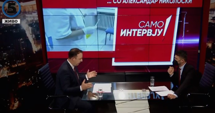 Nikoloski: People convicted for April 27 events are not terrorists, it was a direct revenge of Zaev