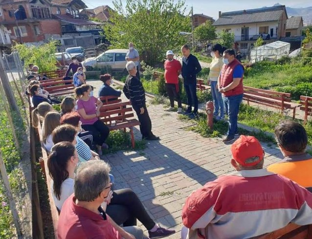 VMRO representatives meet with villagers from Tetovo and Prilep