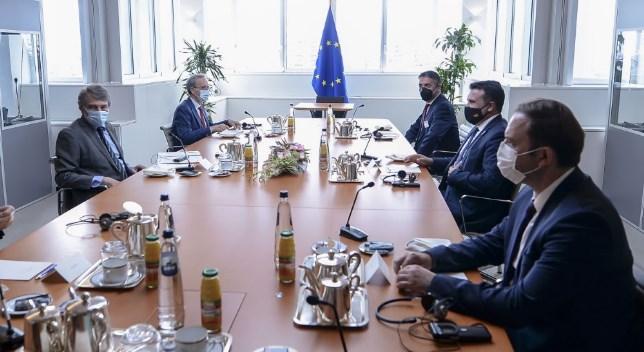 Macedonia will not negotiate about its national identity, Zaev told Sassoli