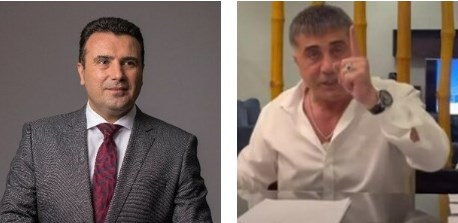 Zaev didn't deny that the Turkish criminal Peker was guest at his house