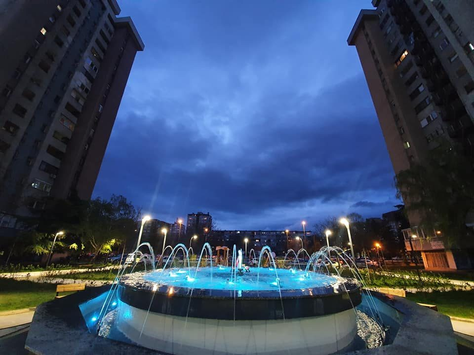 Aerodrom Mayor spent 720,000 EUR for a plaza which is now a public electrocution risk