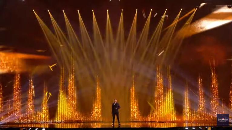 Macedonia's representative Vasil Garvanliev fails to qualify for Eurovision's Grand Final