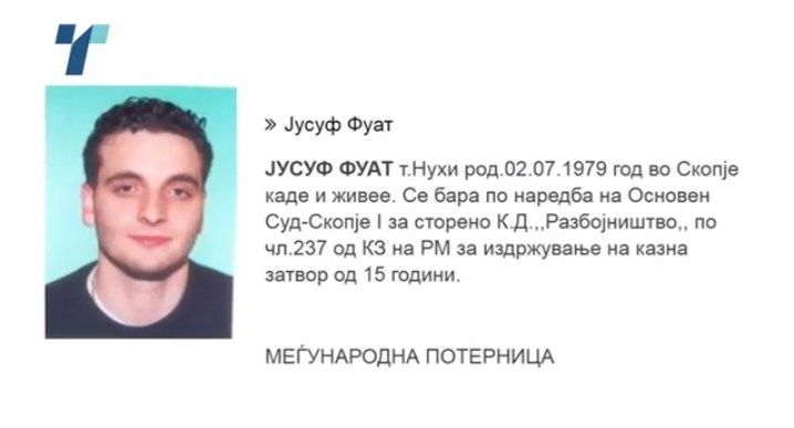 Fuat Jusuf, a fugitive sentenced to 15 years in prison for a 2008 robbery, among those who illegally obtained a passport