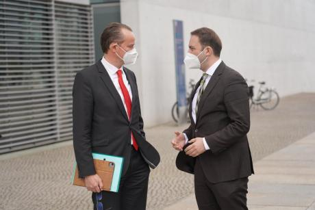 Osmani in Berlin: Macedonia delivered and deserves to start the EU negotiation process