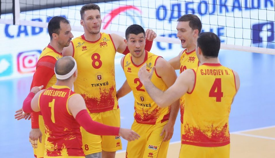 Volleyball: Macedonia beats Cyprus to ensure first place in its silver league group