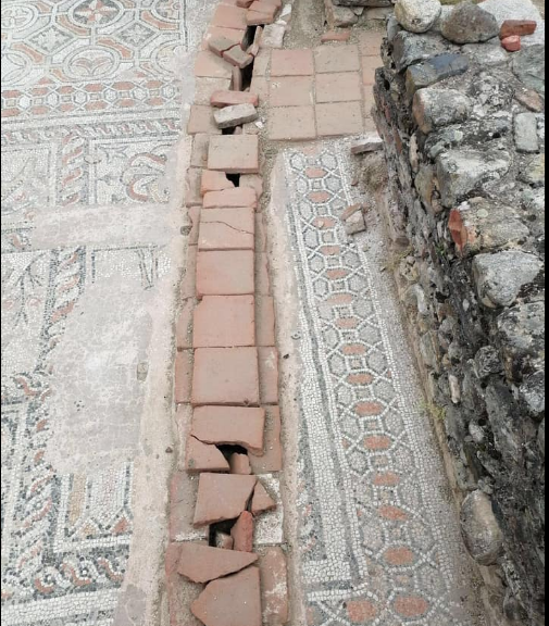Bitola museum director hired her own son to excavate the Heraclea Lyncestis mosaics – causing irreparable damage to the site