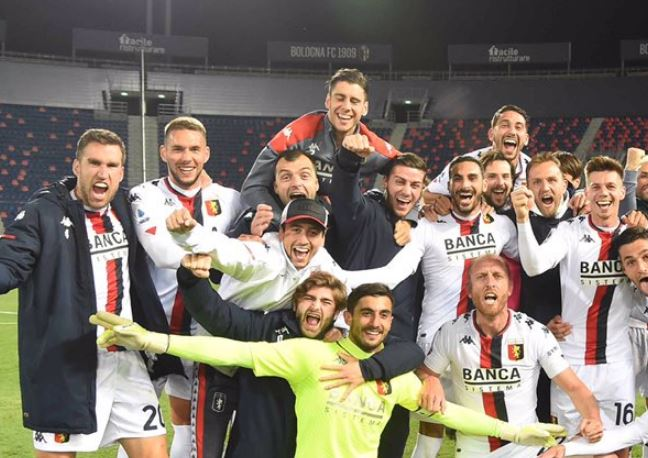 Goran Pandev bids farewell to Genoa