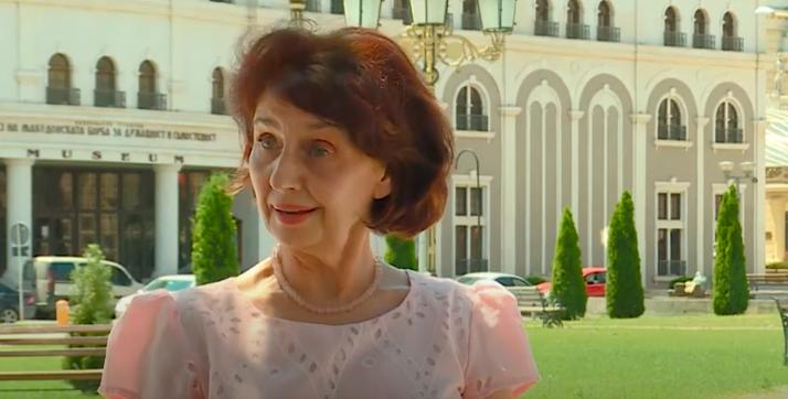 Professor Siljanovska opposed the bill to legalize unlawfully built houses