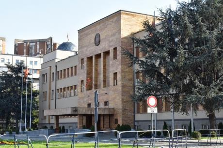The Ombudspersons of Albania and Kosovo visit Macedonia's Parliament