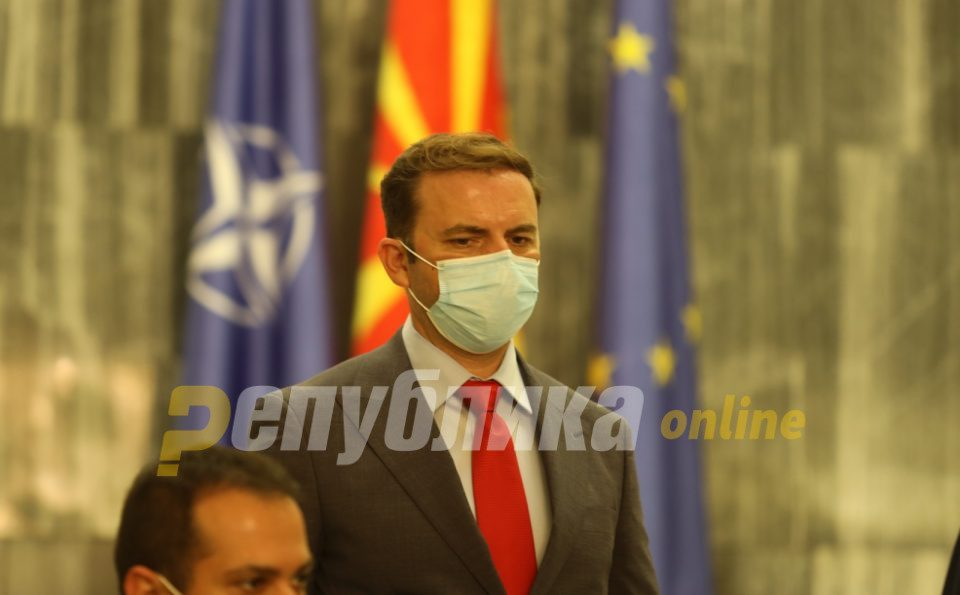As Albania decouples and moves ahead of Macedonia, Foreign Minister Osmani is unlikely to act