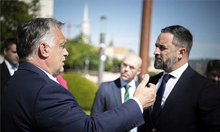 V4: Orban in talks with Spanish right-wing VOX party leader