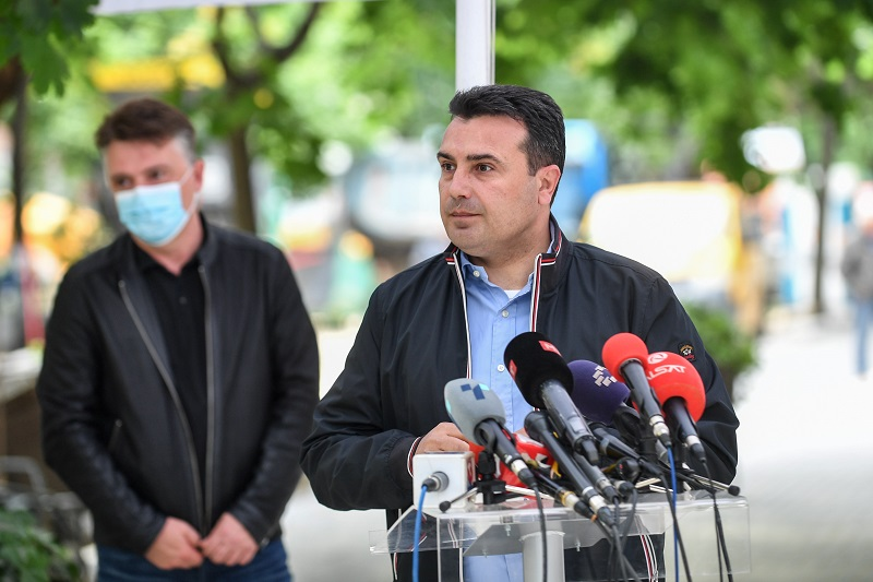 Zaev warns that failure of the legalization law means 50,000 homes need to be demolished