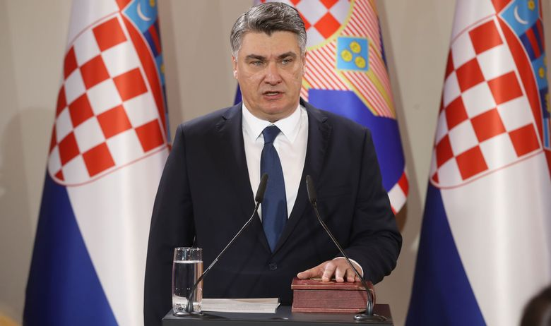 Milanović: What is being done to Macedonia is trespassing, it shouldn't be allowed