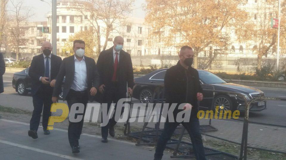 """Trajko Veljanoski, Mile Janakieski and Spiro Ristovski are not organizers of """"April 27"""", Zaev reiterates"""