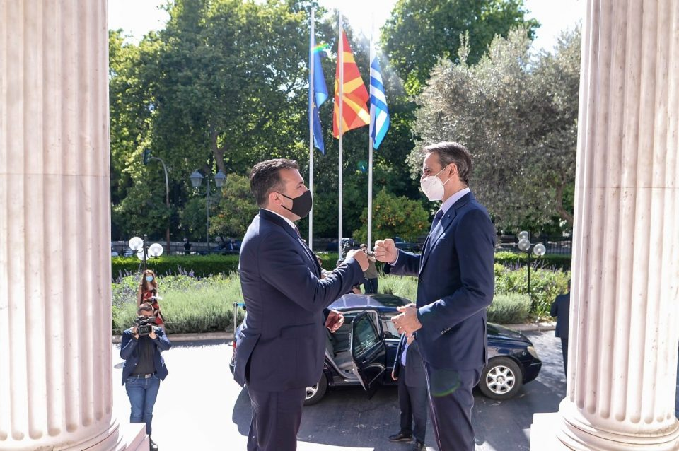 """Zaev hopes that Mitsotakis' """"creative ideas"""" could be used to turn the tables on Bulgaria"""