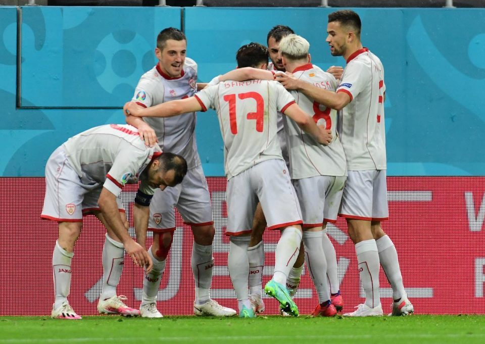 Macedonia played well against a tough opponent, succumbed in the last 20 minutes