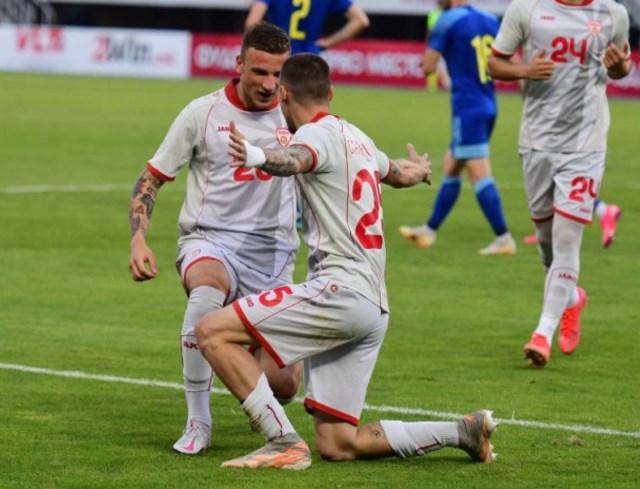 Macedonia will play in white